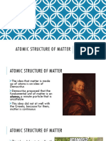 5. Atomic Structure of Matter