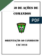 Curso de Formação de Comandos
