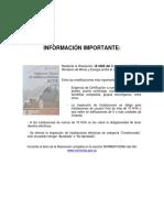 Retiec.reglamento Tecnico Electricidad