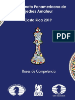 Bases Panamericano Amateur 2019