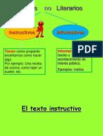 PPT Texto Instructivo No Literario
