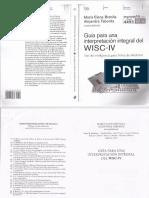 Guía Para Una Interpretación Integral Del WISC IV María Elena Brenlla Alejandra Taborda