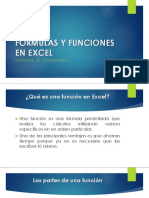 Formulas y Funciones en Excel