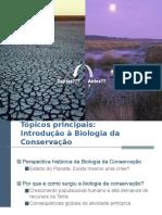 2- Por Que e Como Surgiu a Biologia Da Conservação