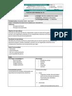 Plan de clase Hidraulica (Ejemplo)