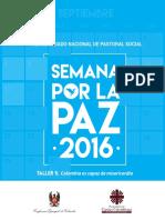SEMANA POR LA PAZ 2016