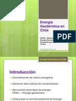 Energia Geotermica en Chile