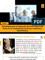 S4-El nivel inferencial léxico en la comprensión de textos.ppt