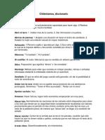 Diccionario de Chinelisimos