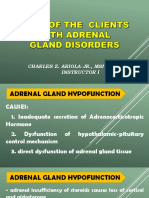 Disorders of Adrenal Glands