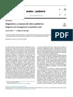 Diagnostico y tratamiento del dolor pediatrico
