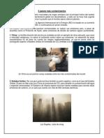 5 Países Más Contaminantes