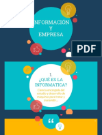 Información y empresa