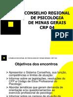 Conselho regional de psicologia