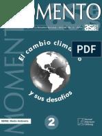 El Cambio Climático y sus desafíos
