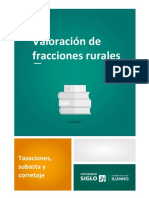 valoracion de fracciones rurales SIGLO 21