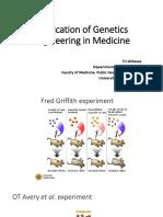 Application of Genetics Enggineering in Medicine