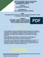 Peturbasiones de Sobretensiones(1)