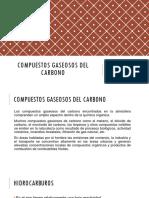 Compuestos Gaseosos Del Carbono