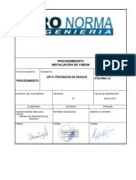 Procedimiento de instalacion de faena - PRONORMA.pdf
