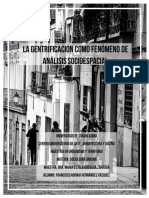 Ensayo Sociología Urbana - Gentrificacion