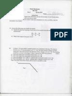 Fluid Exam 1