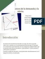 Elementos Básicos de La Demanda y La Oferta -Mayerlis A