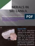 Minerals in Sri Lanka