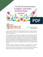 Declaratoria 8vo Encuentro