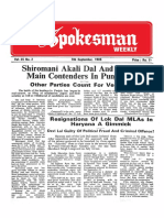 The Spokesman Weekly Vol. 35 No. 2 September 9, 1985
