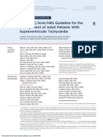 2015 ACC AHA HRS Guideline for the Management of Adult Patients With Supraventricular Tachycardia