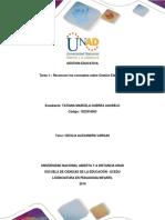 Tarea 1 - Formato - Reconocer Los Conceptos Sobre La Gestion Educativa-Tatiana Guerra.