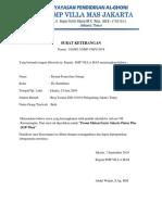 Surat Keterangan Mutasi Kjp Smp