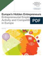 WEF Entrepreneurship in Europe
