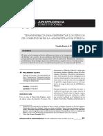 GACETA JURIDICA. Transparencia para enfrentar los riesgos de corrupción en la Administración Pública.pdf
