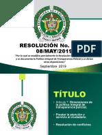 PRESENTACION POLICÍA NACIONAL RESOLUCIÓN N° 01974