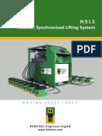 E-hsls HEBETEC Sync Lifting System
