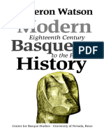Modern Basque History Eighteenth Century-1