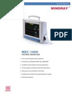 Brochure MEC 1000