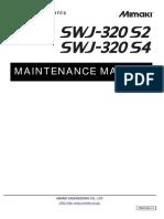 SWJ320S Maintenance Manual D500764 Ver1.40
