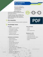 NCSE Level 1 Datasheet