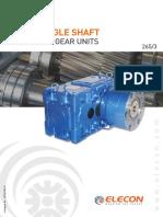 Elecon Extruder Gear Catalogue