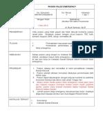 Standar Prosedur Operasional No. 010 Tentang Pasien False Emergency