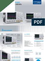 Hameg Instruments Hmo3052 Hmo3054 Oscyloskopy Cyfrowe 500mhz Nn4484