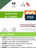 Instalacion de Xampp