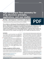 Drug Discovery Today Volume Issue 2017 [Doi 10.1016_j.drudis.2017.09.005] Ding, Mei; Kaspersson, Karin; Murray, David; Bardelle, Catherine -- High-throughput Flow Cytometry for Drug Discovery- Princ