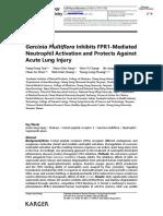 8Tsai, Yung-Fong; Yang, Shun-Chin; Chang, Wen-Yi; Chen, Jih-Jung; -- Garcinia Multiflora Inhibits FPR1-Mediated Neutroph