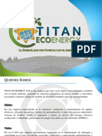 Portafolio General TitanEcoenergy
