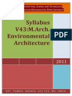 V43 MArch Environmental Arch 2011 Pattern