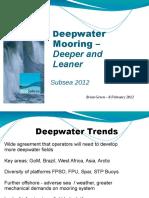Deep Sea Mooring